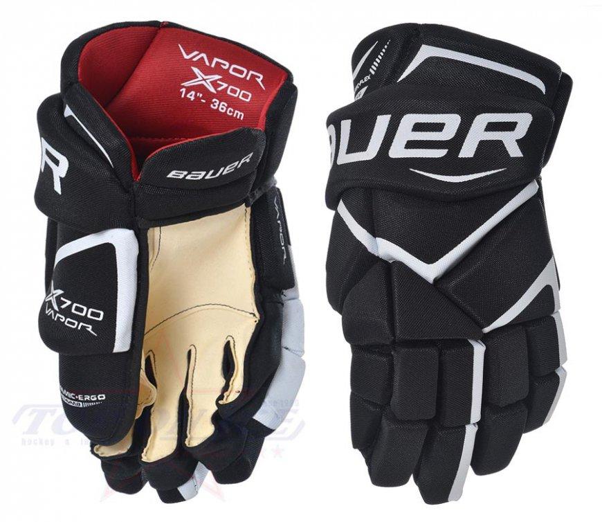 Hokejové rukavice BAUER Vapor X700 JR