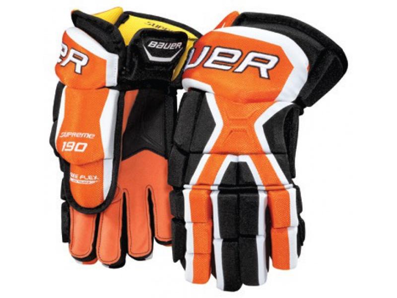 Hokejové rukavice BAUER Supreme 190 SR